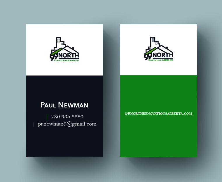 99 North Renovations Business Card