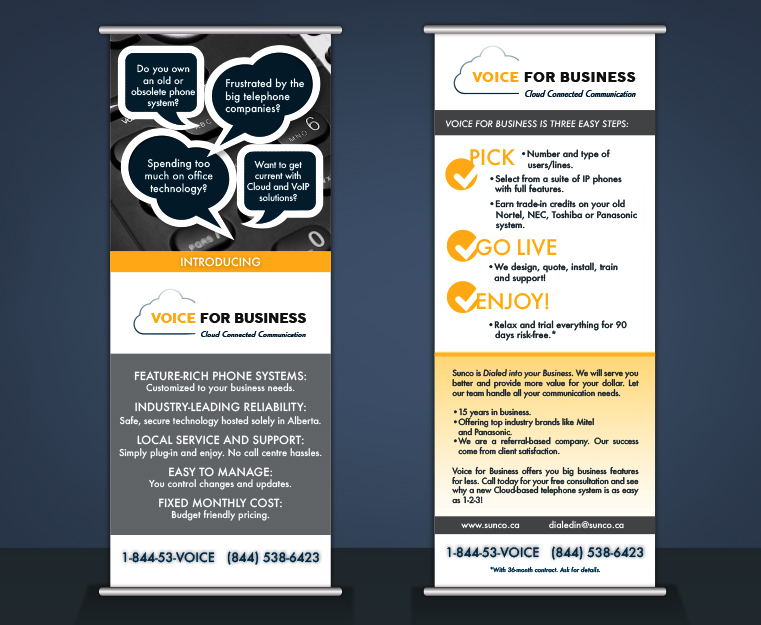 Voice For Business Banners