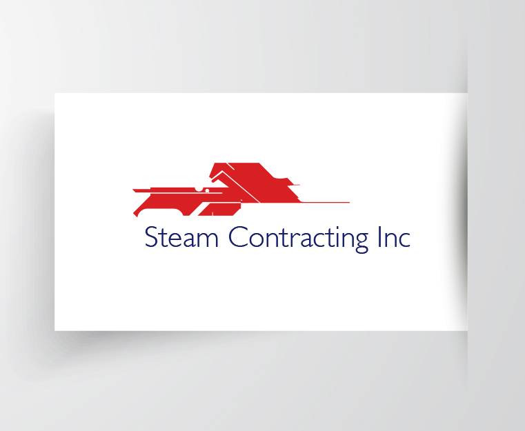 Steam Contracting Logo