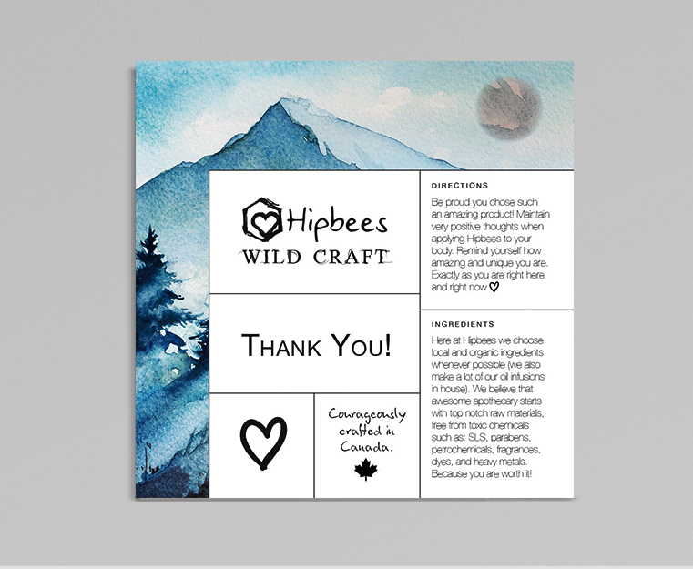 Wild Craft Thank You Card